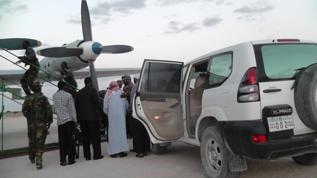 Aweys heads to Mogadishu