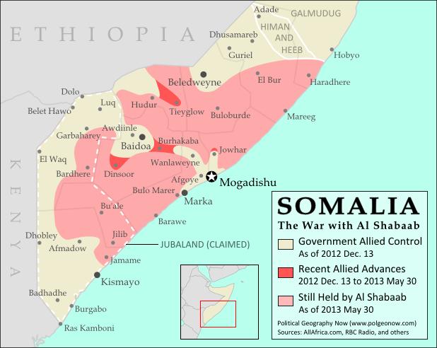 somalia control map
