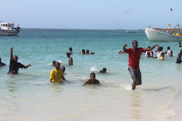 Fun at Liido Beach