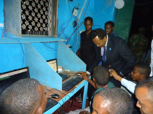 SFG tour at night in Mogadishu