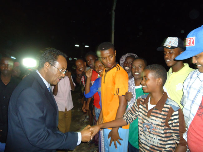 SFG tour at night in Mogadishu
