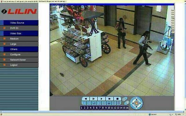alleged screenshot of Westgate attackers