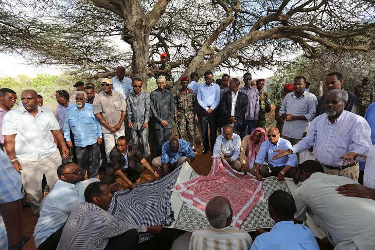 Janazah for Somali MP 4