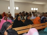 Audience in the courtroom