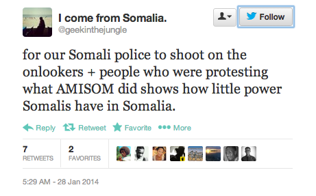 anger at somali police