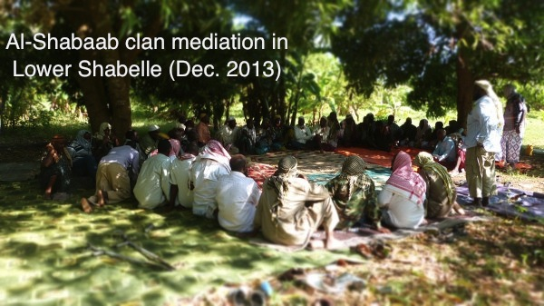Shabaab clan mediation in Lower Shabelle