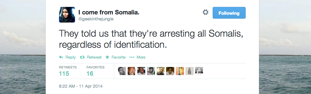 kenya arresting all somalis