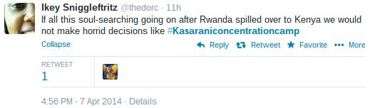 rwanda and kasarani