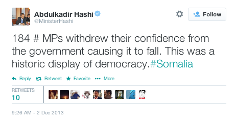 hashi tweet