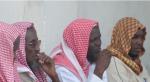 Al-Shabaab Lower Shabelle governor Sheikh Abdalla (far right) et al
