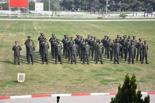 Somali Air Force Cadets training in Turkey