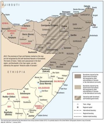 somalia region map