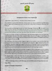 shabaab leego statement