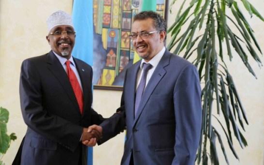 SW president and Ethiopia FM