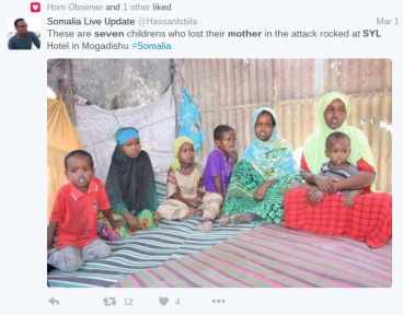 Children of SYL attack victim