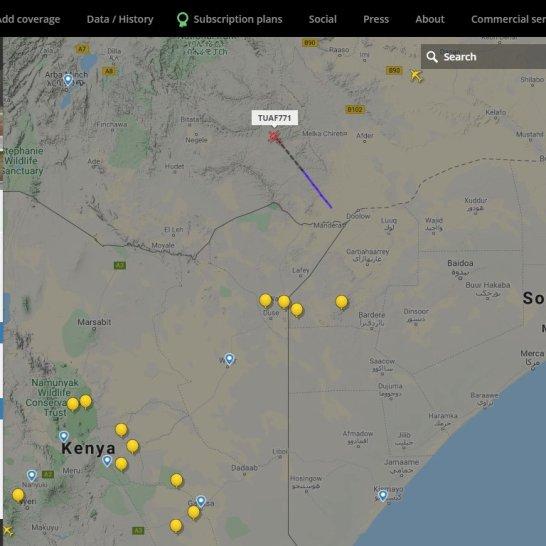 Turkish AF suspected departure from Gedo